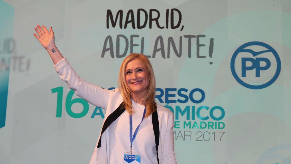 Cristina Cifuentes (Alberto Cuéllar PP Madrid).