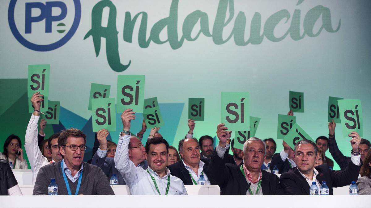 XV Congreso del PP en Andalucía. (Foto: EFE)