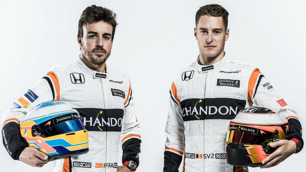 Stoffel Vandoorne considera que Fernando Alonso será una referencia en todos los sentidos durante su primera temporada en Fórmula 1. (Getty)