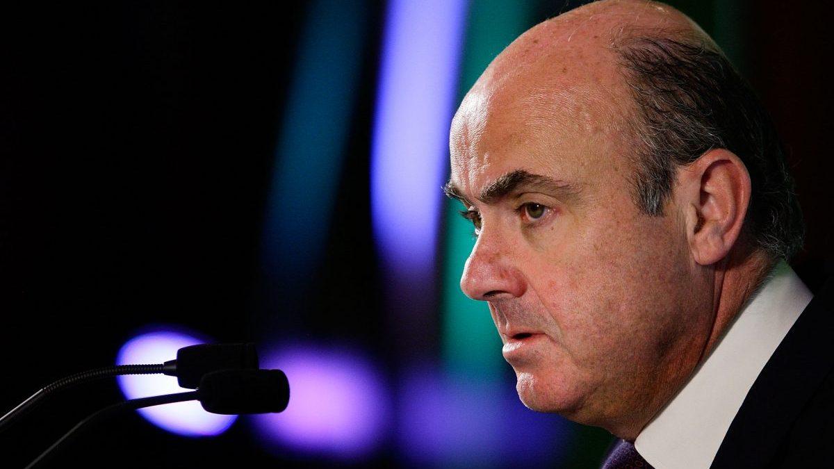 Luis de Guindos, ministro de Economía. (Foto: Getty)