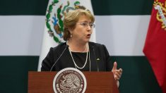 Michelle Bachelet, presidenta de Chile. (Foto: Getty)