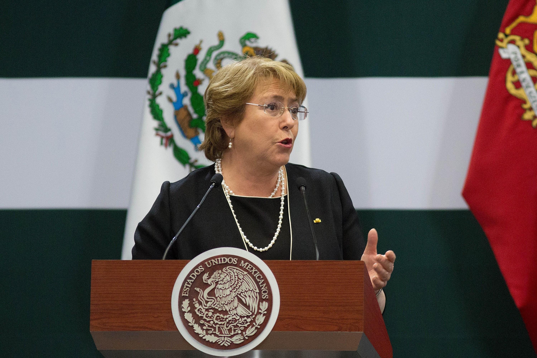 Michelle Bachelet, presidenta de Chile. (Foto: Getty)