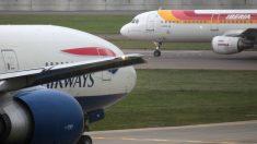 Aviones de la compañía IAG (Foto: EFE)