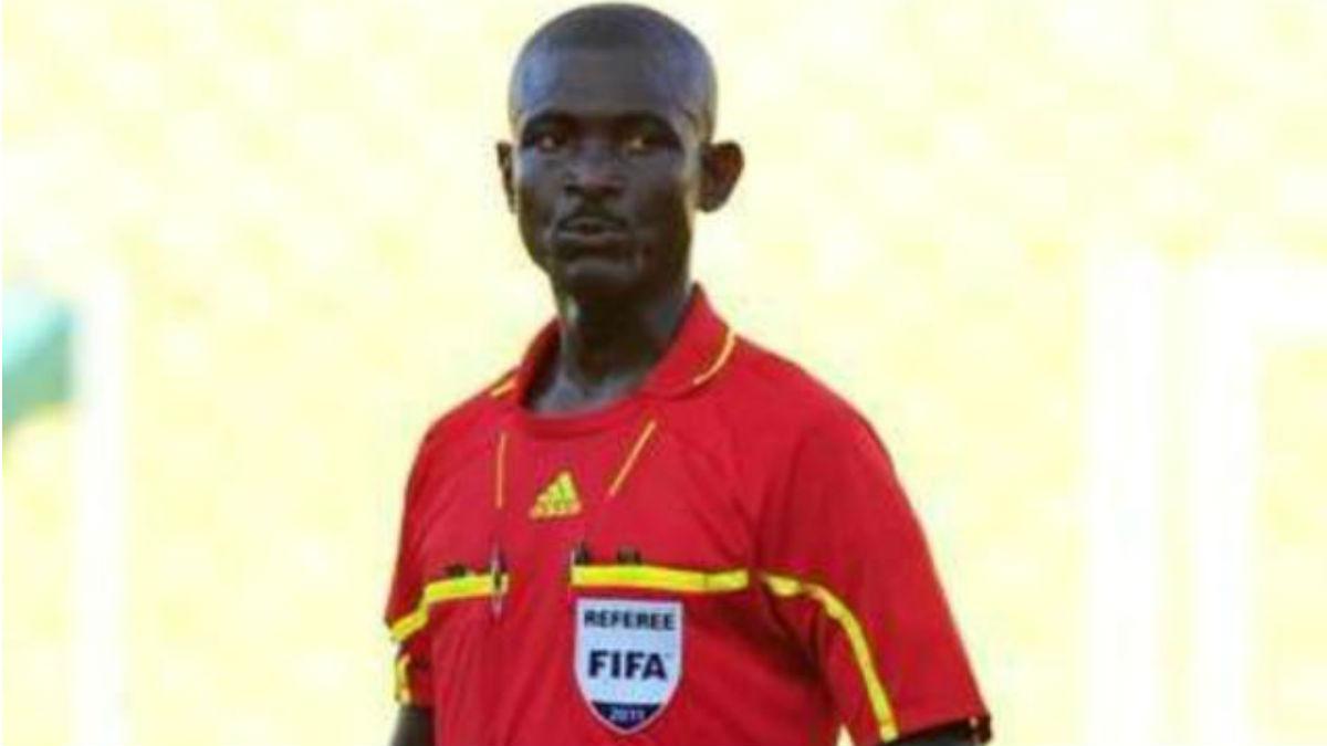 Joseph Odartei Lamptey, árbitro sancionado por la FIFA.