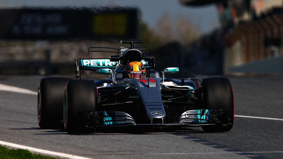 Mercedes podría presentarse en Australia con una nueva evolución de motor que les otorgue 70 CV más. (Getty)