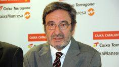Narcís Serra, ex presidente de CatalunyaCaixa.
