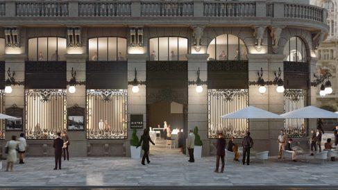 Proyecto Galerías Canalejas