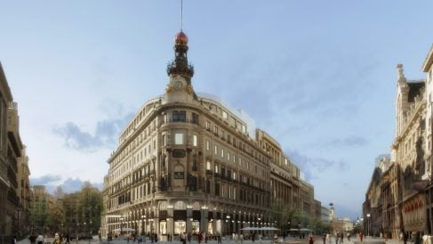 El Ayuntamiento está tramitando un Plan Especial para reformar la plaza donde se ubica su emblemática fachada en punta.