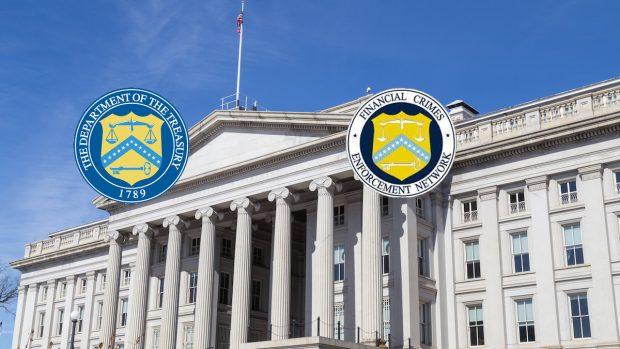 Agencia del departamento del Tesoro de EE.UU. contra los delitos financieros, FinCEN.