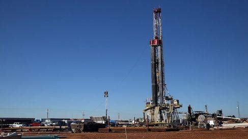 Plataforma de fracking em Texas (EEUU). (Foto: Getty images)