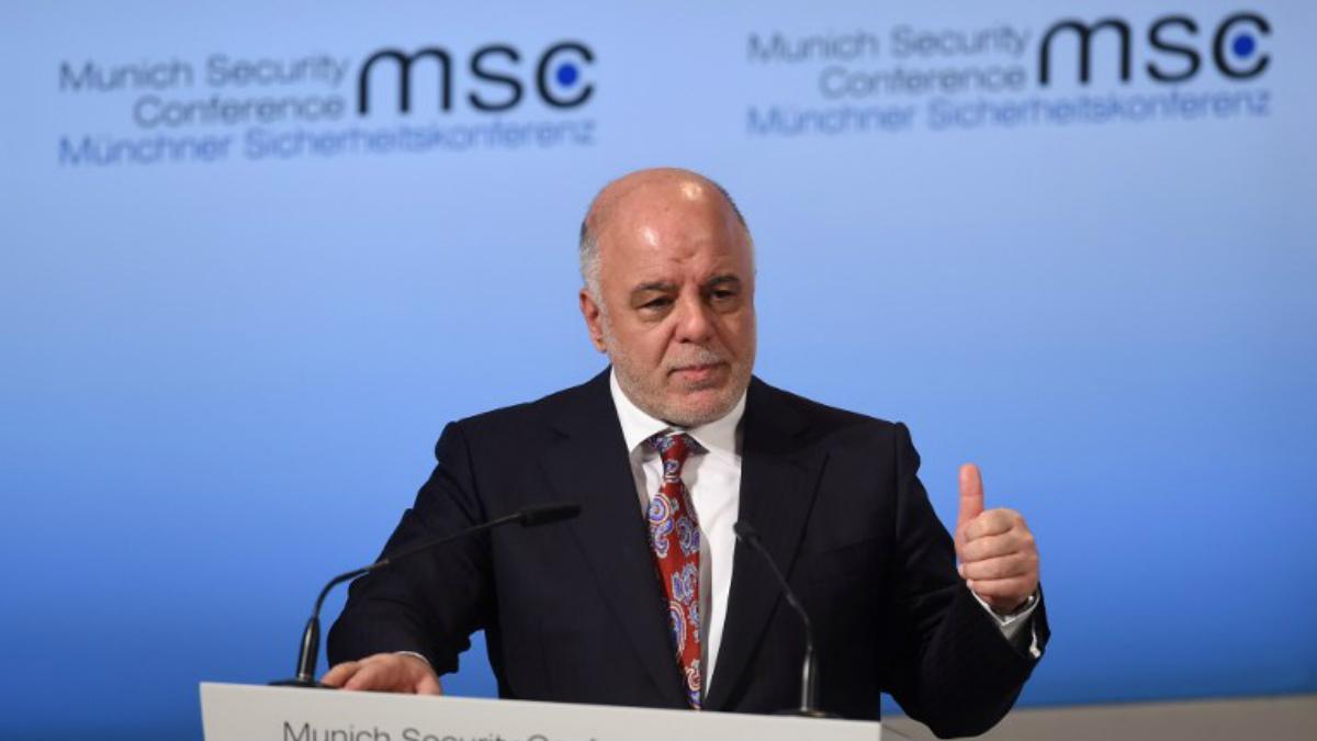 El primer ministro iraquí Haider al Abadi. Foto: AFP