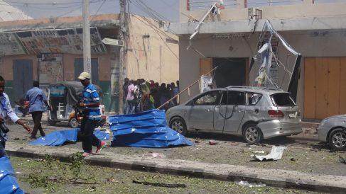 Imagen de un atentado en Mogadiscio. (Foto: AFP)