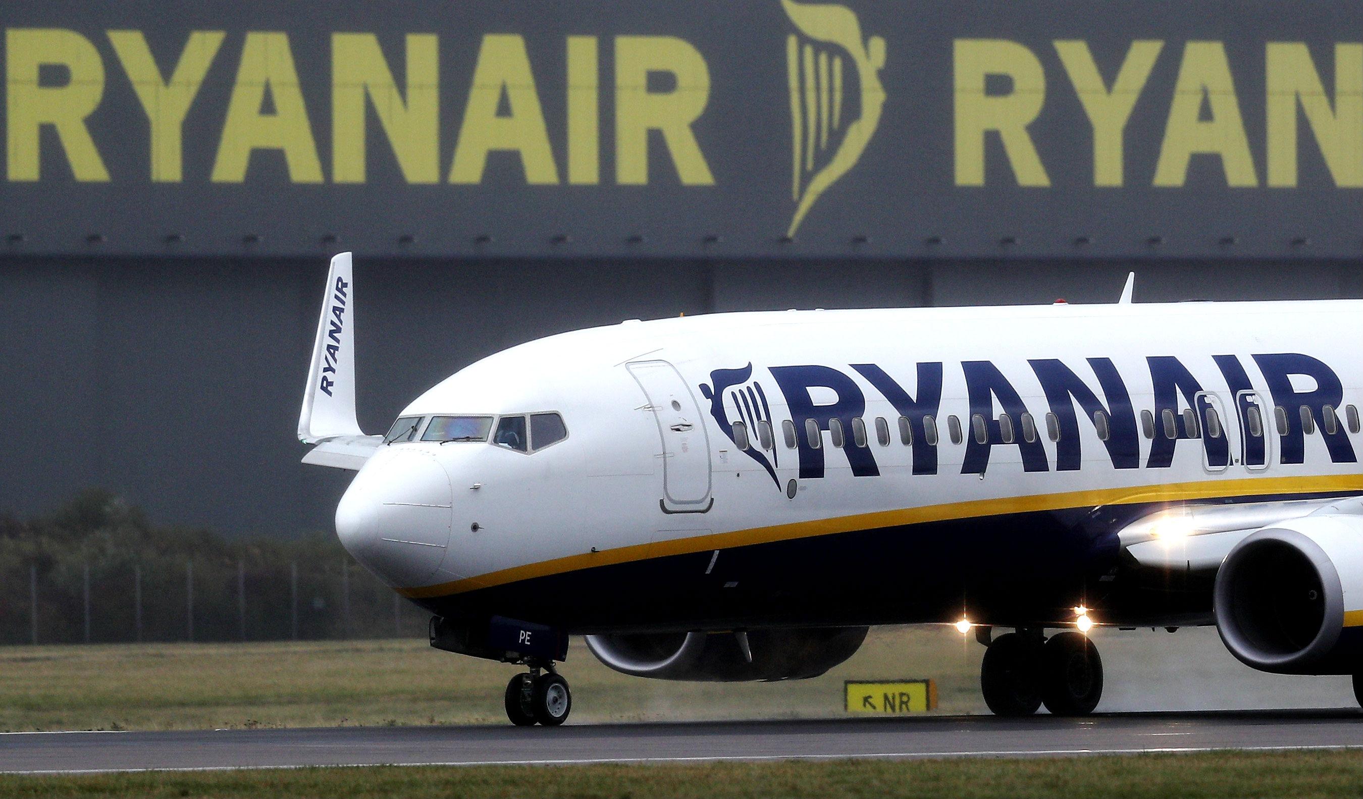 Avión de Ryanair (Foto: GETTY).