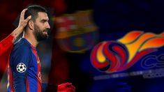 Arda Turan no tiene futuro en el Barcelona.