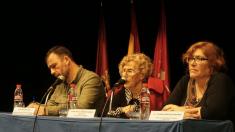 Nacho Murgui, segundo teniente alcalde; Manuela Carmena, la regidora de la capital y Yolanda Rodríguez, concejal presidente de Ciudad Lineal. (Foto: TW)