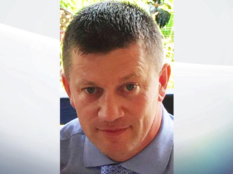 El policía Keith Palmer que murió en el Parlamento británico después de ser atacado por el terrorista.