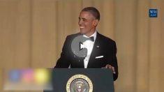 Obama durante uno de sus numerosos meetines