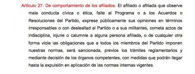 La Gestora baraja la expulsión de Sánchez como última opción si no acata las reglas de las primarias