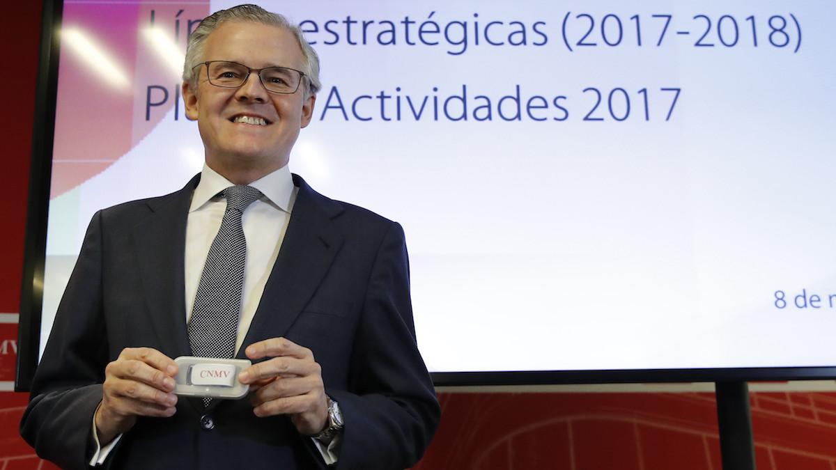 El presidente de la CNMV, Sebastián Albella. (Foto: EFE)