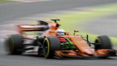 Fernando Alonso, en el GP de Australia. (AFP)