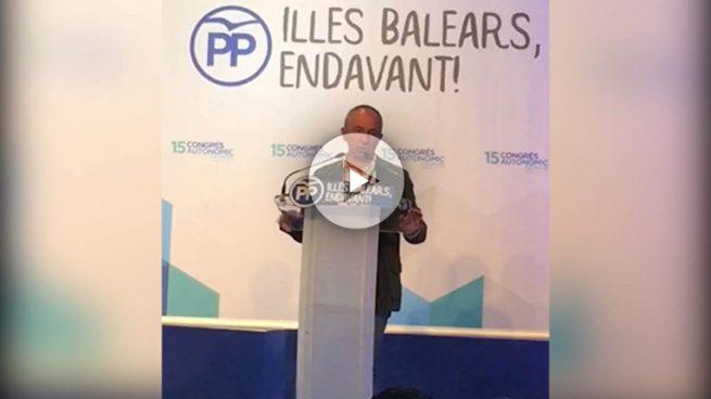 El PP balear se catalaniza: rechaza en su Congreso la libre elección de lengua propuesta por Bauzá