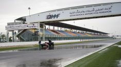 Las calificaciones del GP de Qatar se suspendieron por la lluvia. (Getty)