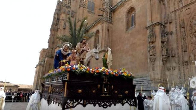 Procesiones Semana Santa Salamanca 2017: Horarios e itinerarios (