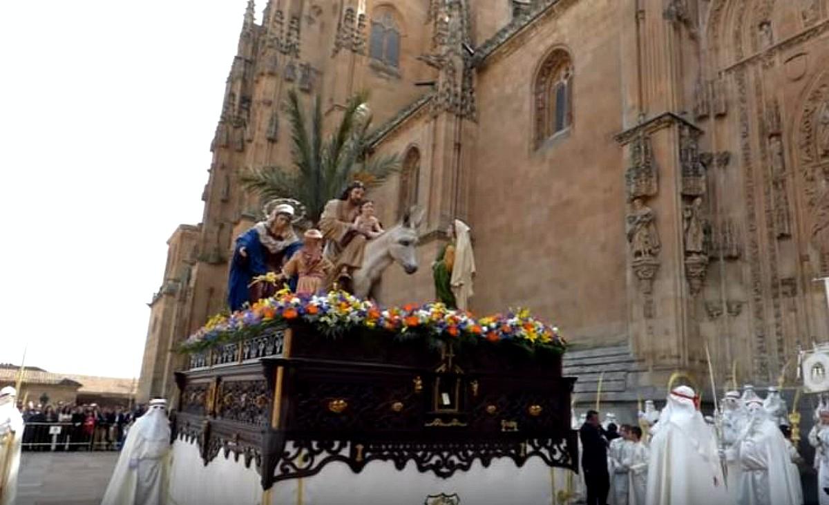 Procesiones Semana Santa Salamanca 2017: Horarios e itinerarios (Foto de archivo)