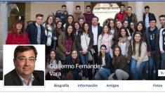 Imagen del perfil falso de Guillermo Fernández-Vara.