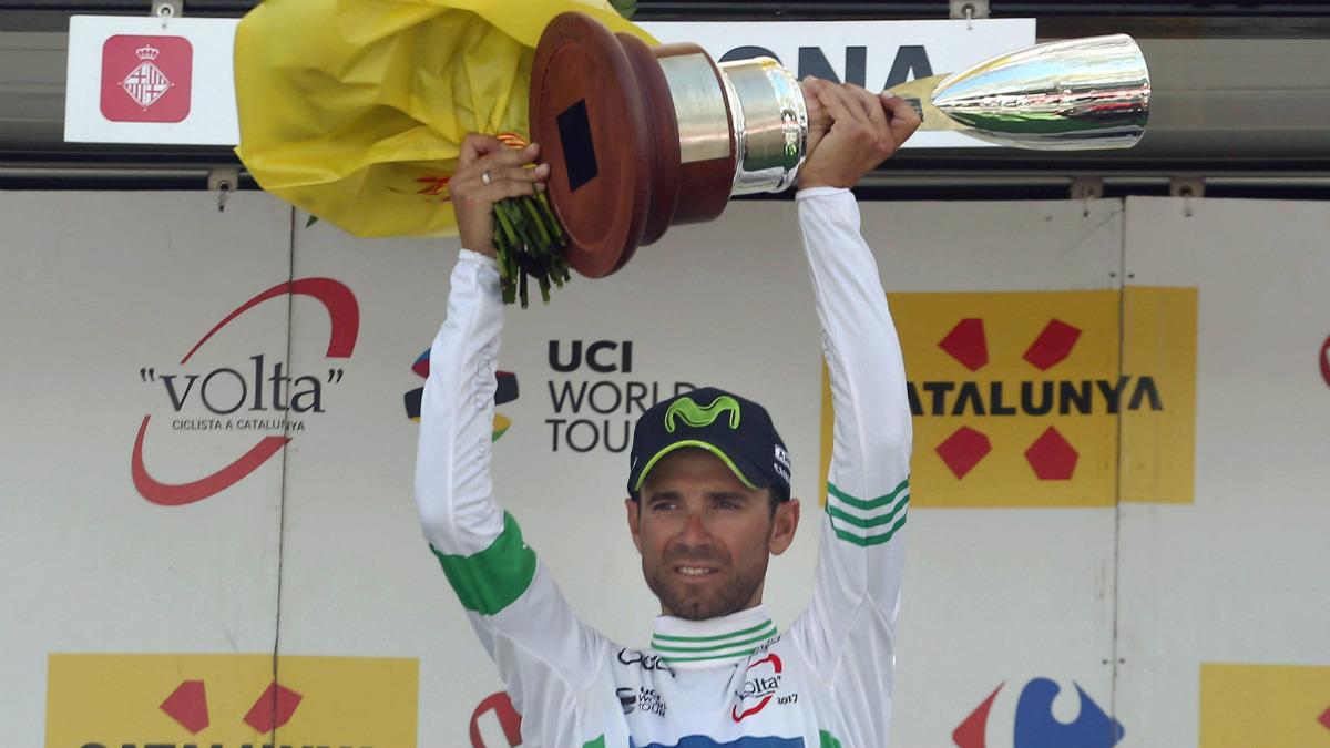 Alejandro Valverde ganó su segunda Volta a Cataluña. (EFE)