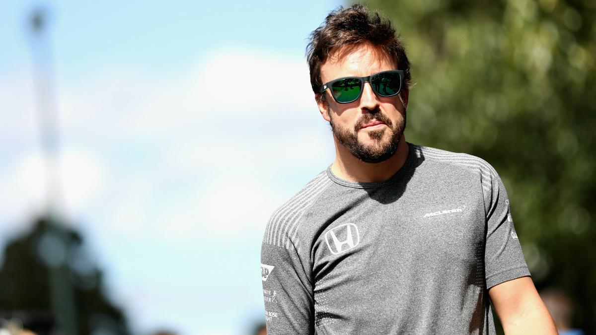 Fernando Alonso se siente rejuvenecido con su aventura norteamericana. (Getty)