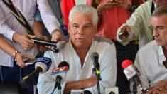 El máximo responsable de Electricaribe tras la expropiación, Edgardo Sojo.