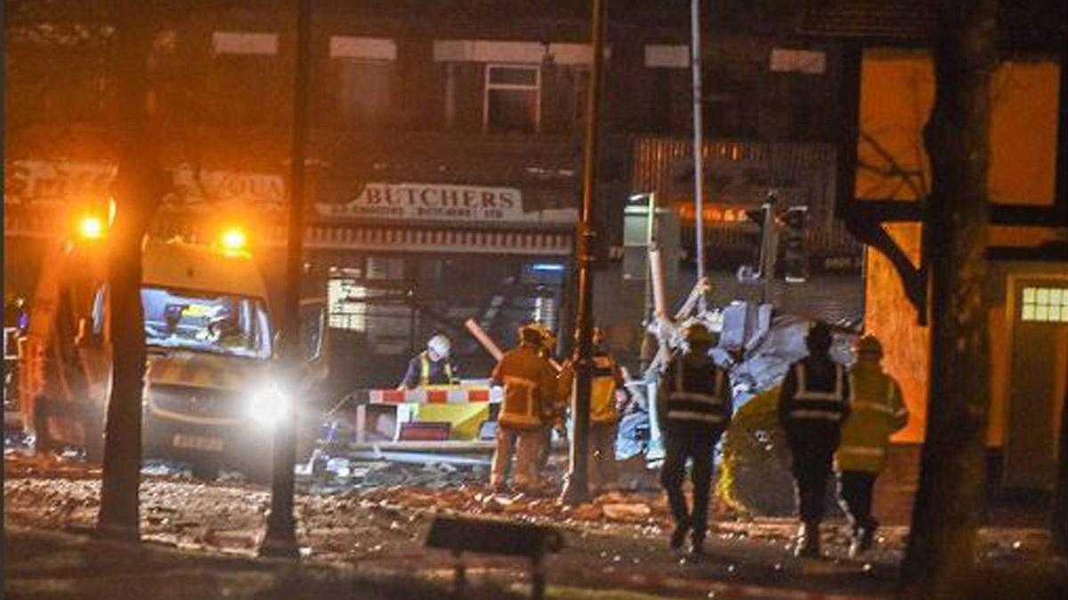 Explosión al sur de Liverpool