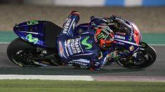 Maverick Viñales logró la victoria en el GP de Qatar. (AFP)