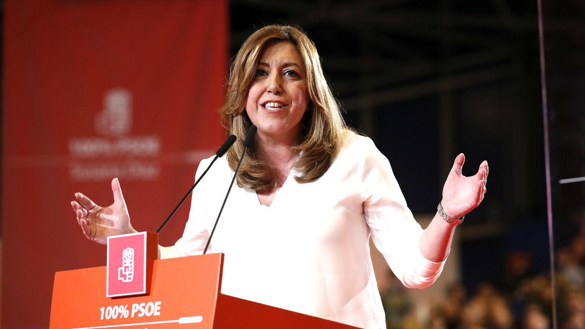 Susana Díaz. (Foto: EFE)