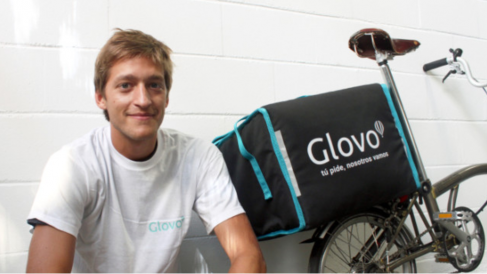Óscar Pierre, CEO de Glovo (Foto. Glovo)