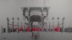 Proyecto 'Colgando del Centro'  para el Palacio de Cibeles. (Clic para ver fotogalería)