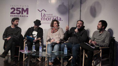 Debate sobre libertad de expresión organizado por Podemos.