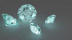 Hay que señalar que los diamantes no siempre se han usado en joyería.