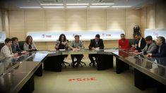 Reunión de la Gestora del PSOE. (EFE)