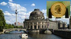 La moneda de oro robada del Bode-Museum de Berlín.