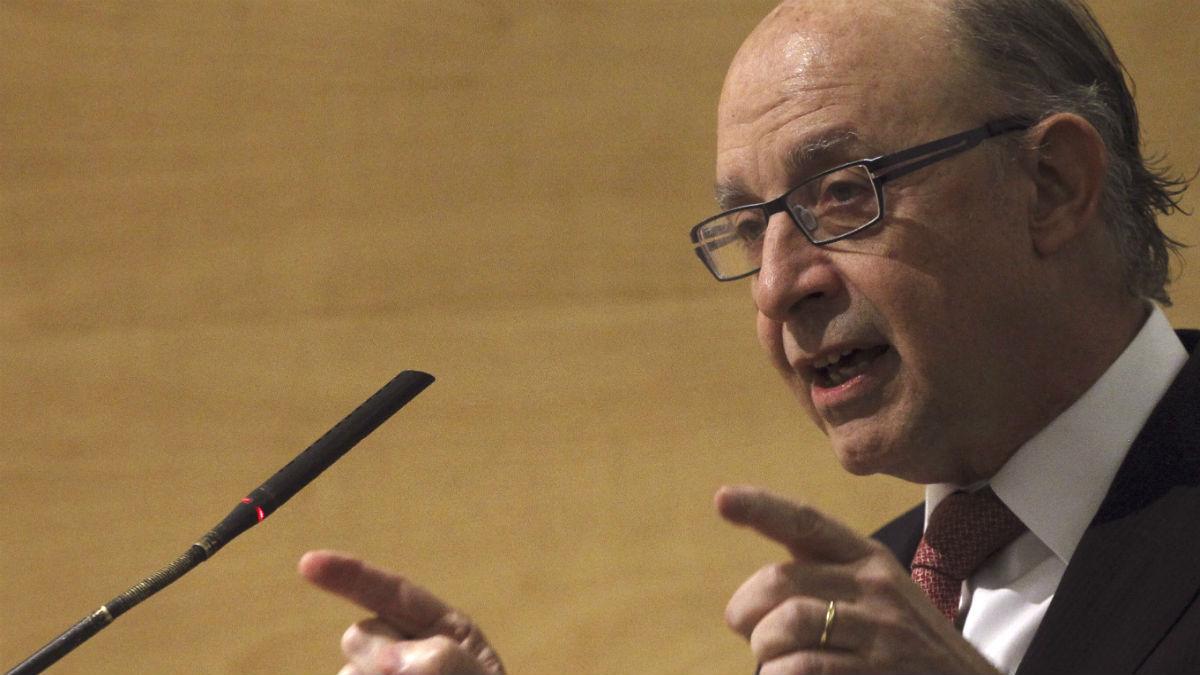 Cristóbal Montoro, ministro de Hacienda. (Foto: EFE)