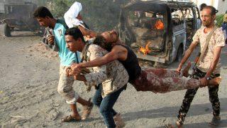 Al menos once muertos por un atentado suicida en Yemen (Foto:AFP)