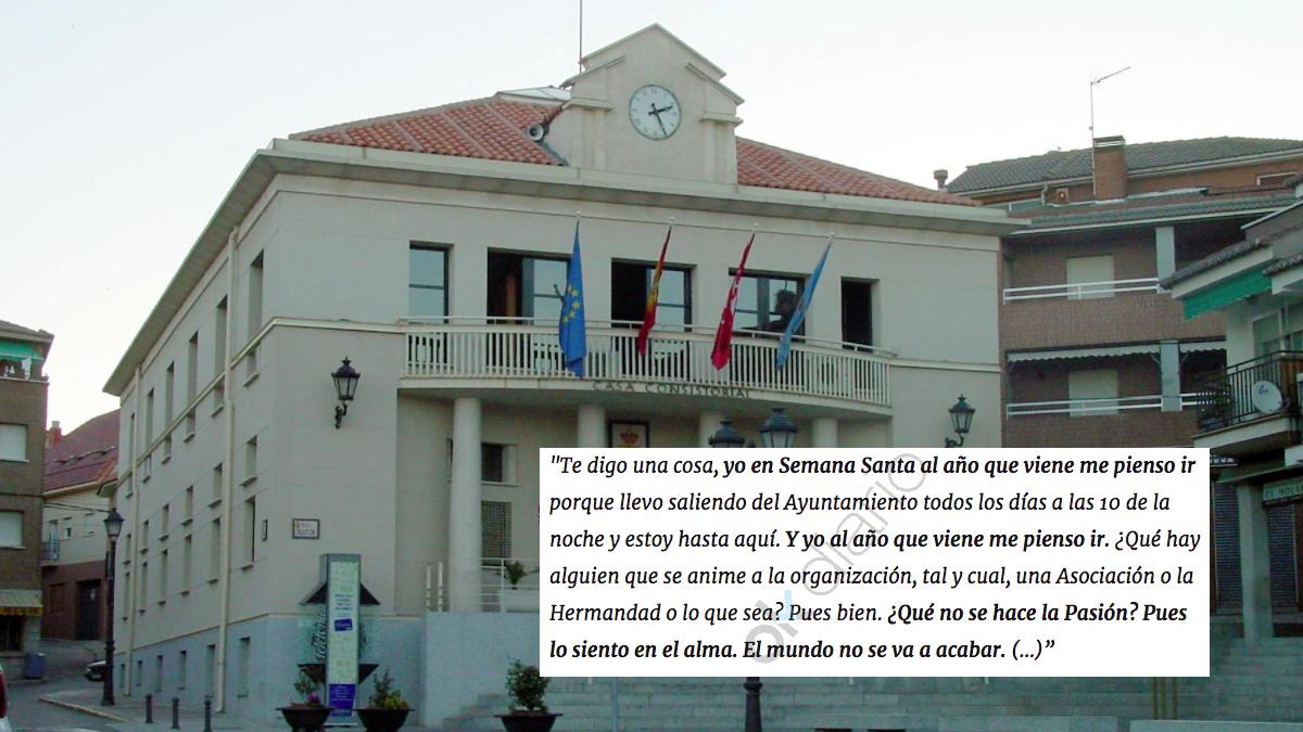 Ayuntamiento El Molar, al norte de la Comunidad de Madrid. (Foto: WM)