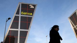 Sede operativa de Bankia (Foto: GETTY).