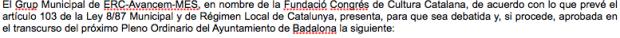 C's vota a favor de una moción de ERC para reconocer la cultura de los Países Catalanes