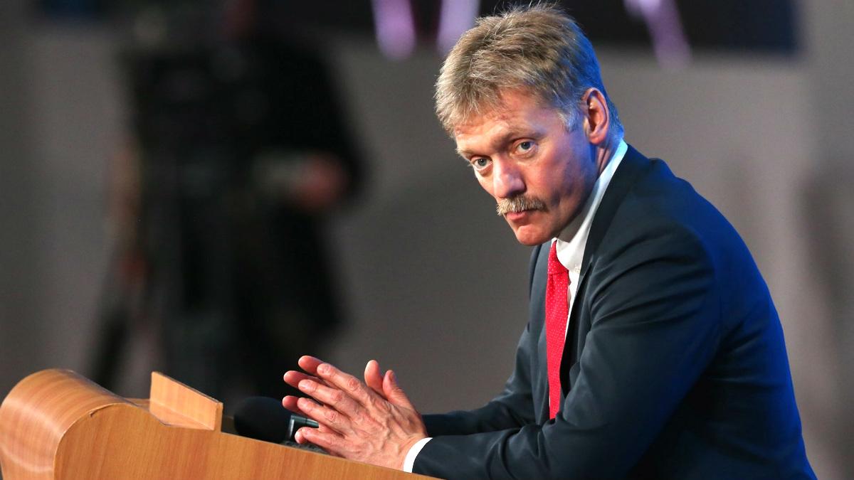 Dmitri Peskov, portavoz del Kremlin.