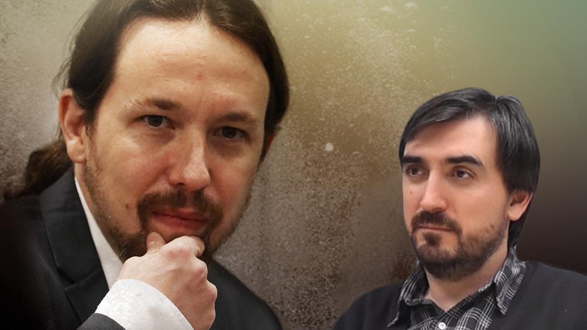 Pablo Iglesias e Ignacio Escolar.