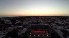 Imagen panorámica de un edificio de Mapfre.