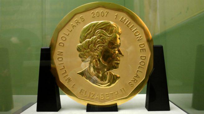 mayor moneda de oro